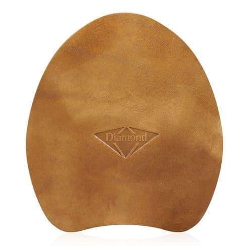 Diamond leather pad wedged
